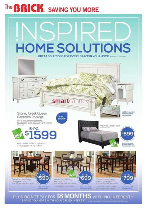 the brick inspired home solutions july 5 to 26