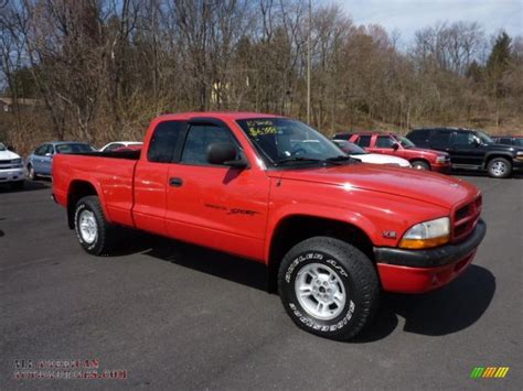 best car repair manuals 1999 dodge dakota electronic toll collection 1999 dodge dakota sport extended cab 4x4 in flame red 276433 all american automobiles buy