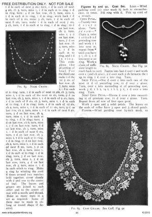 antique pattern library priscilla apl 6 ja025 priscilla irish crochet book no 2 overview