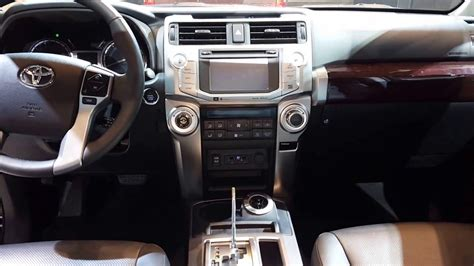 toyota 4runner 2016 interior 2016 toyota 4runner limited interior walkaround price site