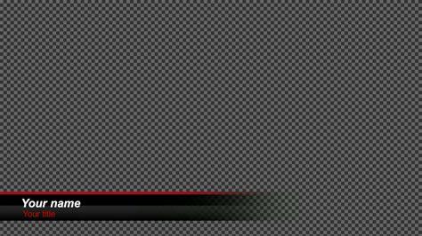 lower third templates livestream studio lower third black gloss
