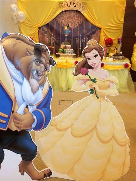 decoracion de fiesta de la princesa bella y la bestia decoraci 243 n para fiesta de la bella y la bestia ultima