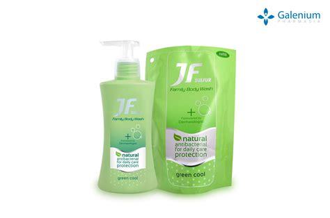 Jf Sulfur Family Soap 90g jf family wash green cool pt galenium pharmasi