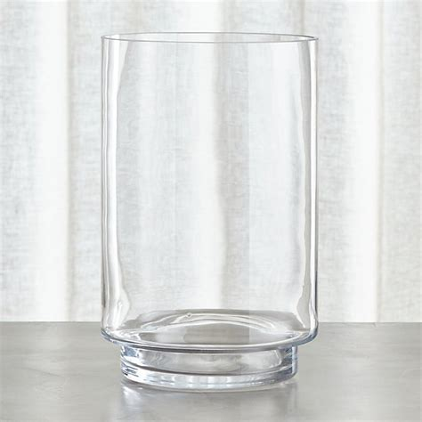 large hurricane candle holder crate and barrel