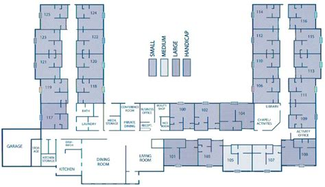 assisted living facility floor plans countryside villa assisted living facility wausa nebraska