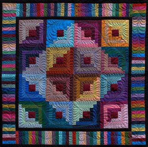Log Cabin Quilt by 17 Best Images About Log Cabin Quilts On Appliques Quilt And Log Cabin