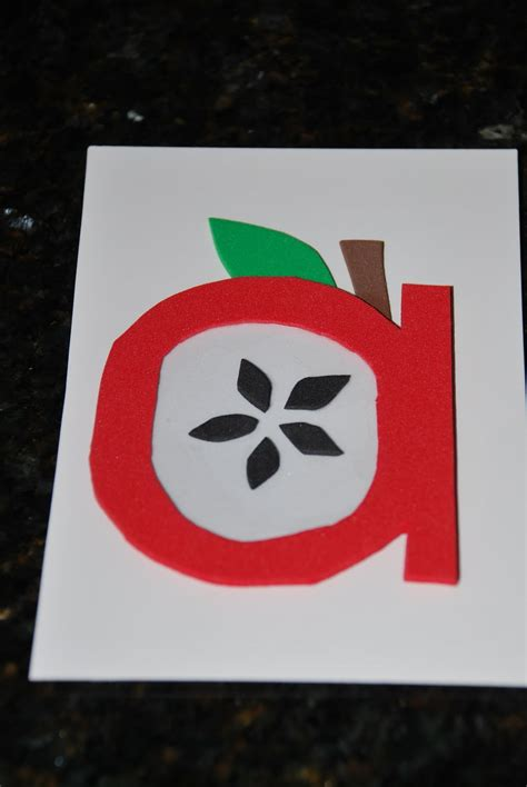 everyday carnival a is for apple a preschool lesson plan