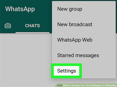 whatsapp wallpaper with message how to change your chat wallpaper on whatsapp with pictures