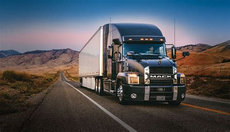 what is the truck mack introduces anthem highway model truck