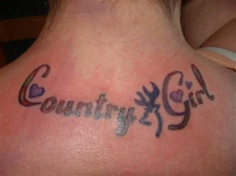 country tattoos for girls country western tattoos for
