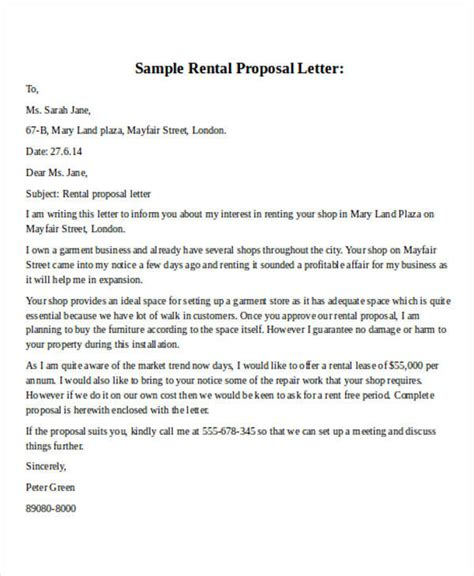 Letter Of Offer For Commercial Lease lease offer letter template 28 images sle proposals