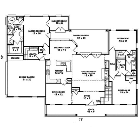 cape cod blueprints greenshire cape cod home plan 087d 1652 house plans and more