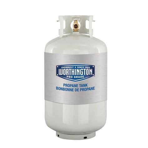 worthington pro grade 30 lb empty propane tank 303954