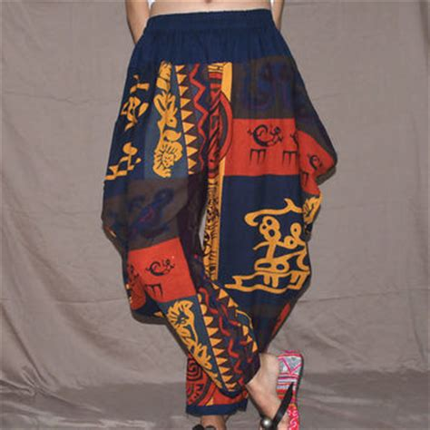 tribal pattern harem pants shop patterned harem pants on wanelo
