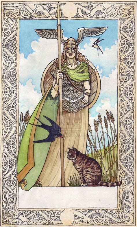 norse a collection of ideas to try about the empress tarot card a collection of ideas to try