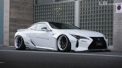 lexus lfa liberty walk liberty walk lexus lc wide body kit revealed