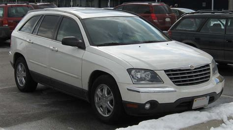 2006 Chrysler Pacifica by File 2004 2006 Chrysler Pacifica Jpg Wikimedia Commons