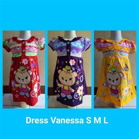 Grosir Muraj Dress Cakvin Lengkap pusat grosir baju dress size s m l anak perempuan murah 23ribu