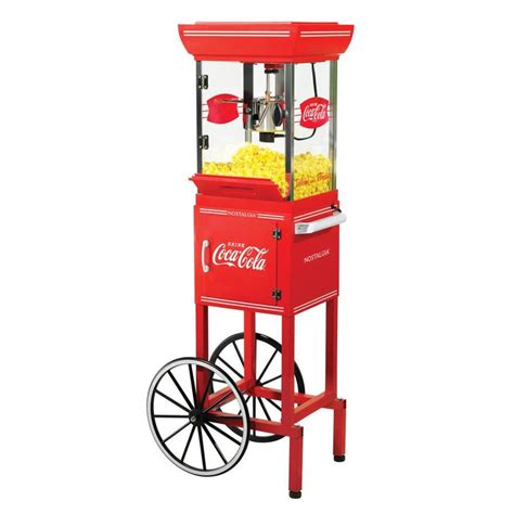 corn maker shop nostalgia 0 25 cup popcorn maker cart at lowes