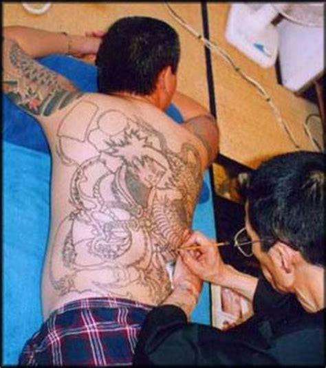 yakuza tattoo process yakuza
