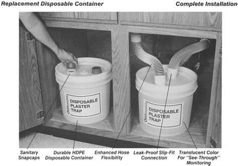 plaster traps for sinks enhanced hygiene and economy