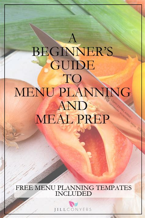 healthy meal prep time saving plans to prep and portion your weekly meals books beginner s guide to menu planning and meal prep conyers