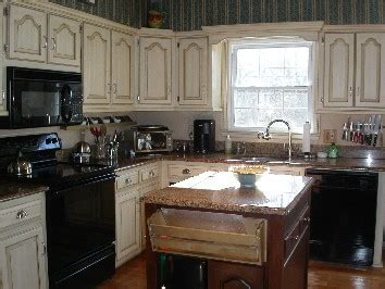 painting oak cabinets cream kitchen transformations decorative painting by