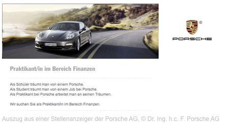 Audi Bewerbung Praktikum by Anschreiben F 252 R Die Perfekte Bewerbung Beim Praktikum