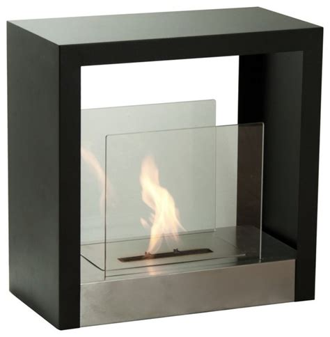 ventless fireplace modern tectum s modern ventless ethanol fireplace