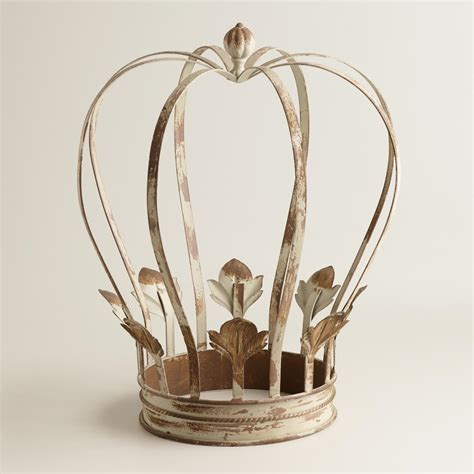 crown decor large metal crown decor world market