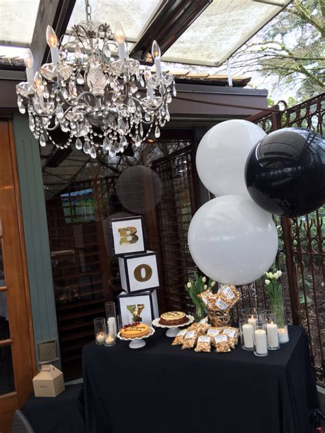 Black And White Themed Baby Shower by Boy Baby Shower Gold Black And White Themed This