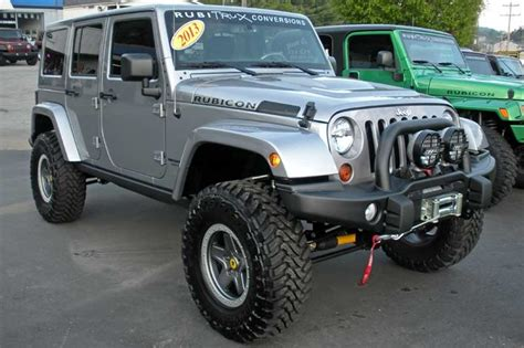 Jeep Wrangler Unlimited Used For Sale Custom Jeep Wrangler Unlimited For Sale 2013 Billet