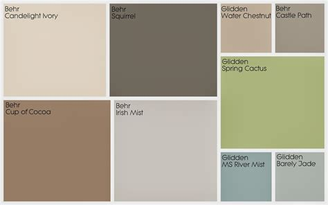 2017 color schemes 100 most popular interior paint color most popular