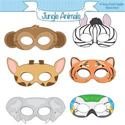 jungle animal mask templates best photos of jungle animal mask templates jungle