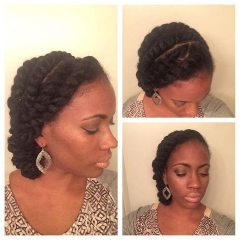 how to accessorize a flat twist style natural style flat twists quick styles marley hair