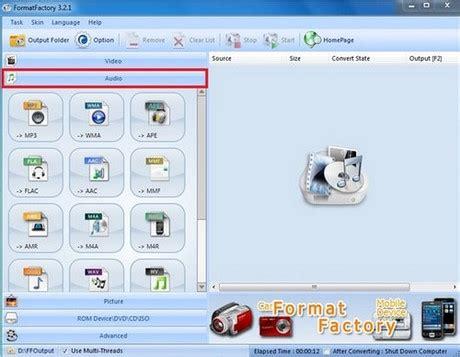 format factory khong chuyen doi duoc hướng dẫn chuyển đổi video sang nhạc mp3 bằng format factory