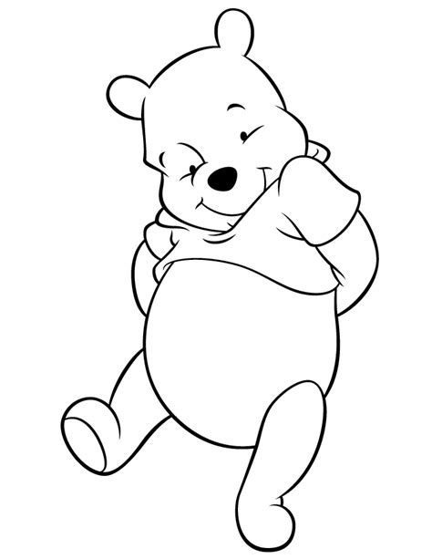 coloring page of winnie the pooh winnie the pooh characters coloring pages coloring home