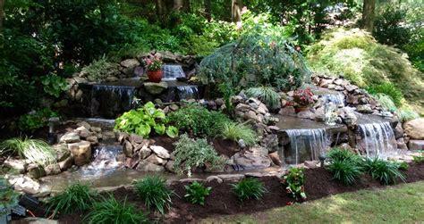 plantings waterfalls jl femia landscape design