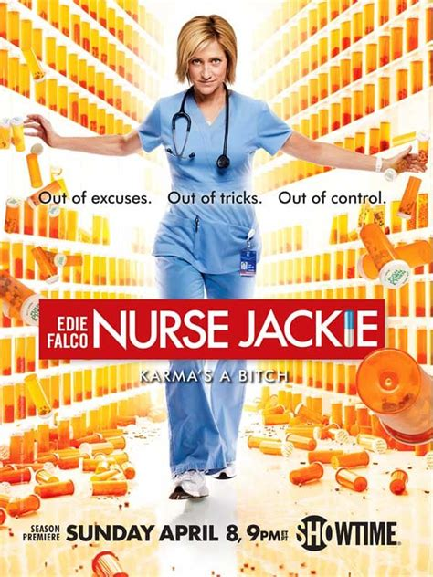 Nurse Jackie Memes - nurse jackie season 4 poster out of control tv fanatic
