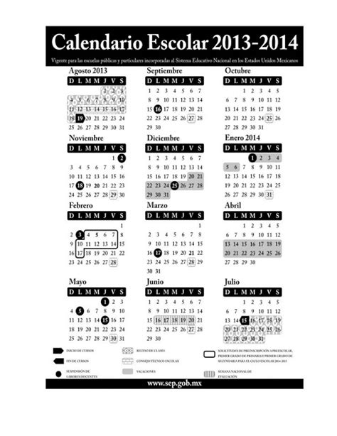 calendario escolar 2014 2015 sep imagui