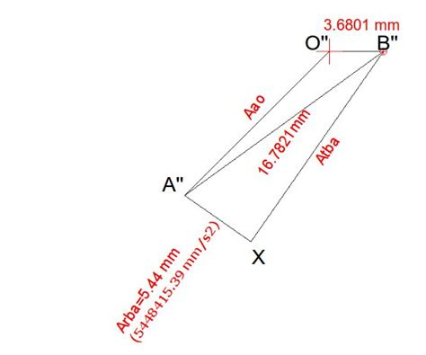 how to draw velocity and acceleration diagram drawing acceleration vector diagram of four bar linkage