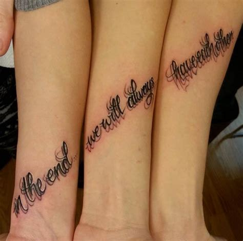 unique sister tattoos 1000 ideas about unique friendship tattoos on
