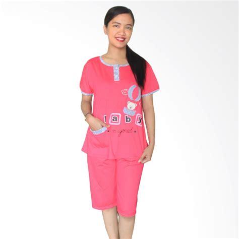 Setelan Wanita Tiger Pink jual aily 1055 setelan baju tidur wanita pink