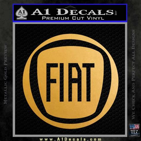 Kaos Fb Logo 1 Cr Oceanseven fiat logo cr decal sticker 187 a1 decals