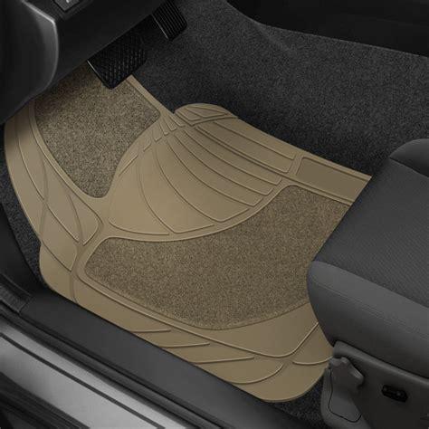 1 2nd Row Floor Mat - rubber 174 70843 1st 2nd row beige heavy duty