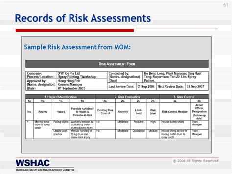 sle it risk assessment fatics tk