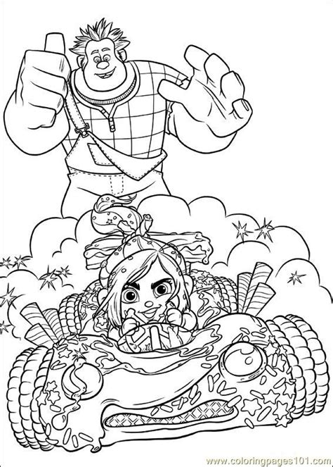 wreck it ralph coloring pages free coloring pages of wreck it ralph