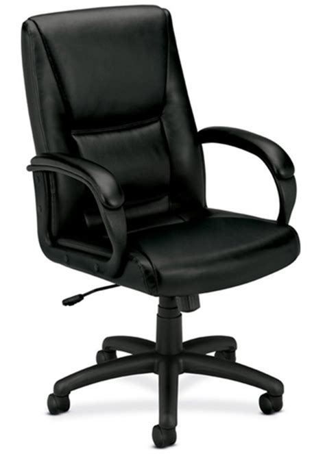 hon basyx hvl161 leather conference chair atlanta office