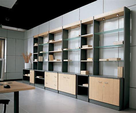 muebles de haya foto mueble oficina melamina gris humo y haya natural de