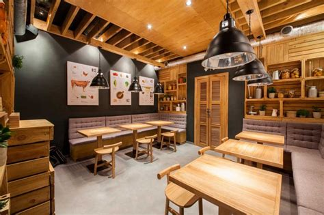 layout pabrik plywood this restaurant in kiev is keeping it casual and natural